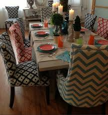 dining room table and fabric chairs. Dining Room Chair Cotton Fabric Ideas For Large Wood Table And Chairs R