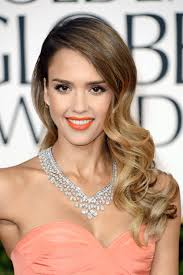 Jessica Alba. Photos of Ombre Hair Color. Jessica Alba. Jason Merritt for Getty. More on hair color: Hottest hair color trends · Bronde hairstyles ... - jessica-alba-golden-globes