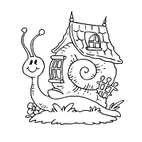 Small Picture Snail Coloring Pages Surfnetkids