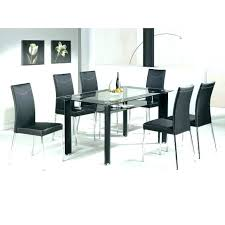 6 chair dining set 6 dining table and chairs dining table set 6 black glass