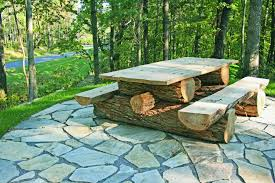 rustic outdoor furniture. Rustic Patio Furniture Texas Locust Picnic Table Custom Made To Your Specifications This Outdoor A
