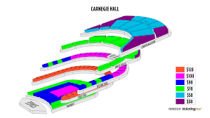 Stage 42 Seating Chart New York Carnegie Hall Stern Auditorium Perelman Stage