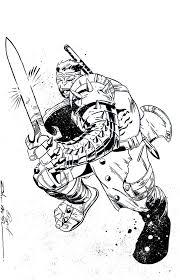 World War Hulk Inks By Bruppert