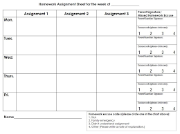 weekly assignment template school homework planner sheets easy as well for kids high school