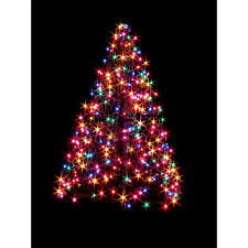 indoor outdoor pre lit led artificial christmas tree