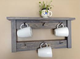 expanding coffee mug wall rack pictures to pin on