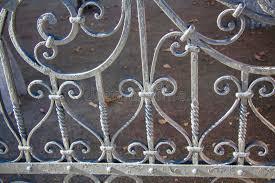 luxury wrought iron fence detail stock ilration ilration of elegance chipping 46055501