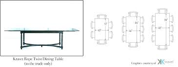 round dining room table sizes dining room table size chart