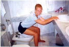 bidet toilet. step 3: using the bidet toilet