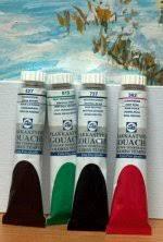 L B Linel Gouache Color Charts And Info About Art Paints