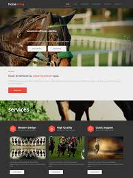 template horse horse racing html template horse racing website templates