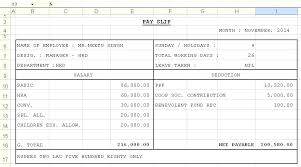 Download Payslip Template Delectable Excel Payslip Template Pay Slip Online 44 Religico