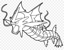 gyarados drawing pikachu coloring book pokémon pikachu
