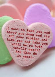 candy heart funny valentines day card to personalize and send