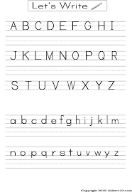 Elementary Handwriting Worksheets Preschool Letter Writing ...