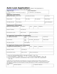 Employee Loan Application Form Template Fitted Snapshot Sample Car