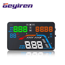 <b>GEYIREN</b> 5.5'' <b>OBDII</b> Car HUD <b>OBD2</b> Port Head Up Display <b>Q700</b> ...