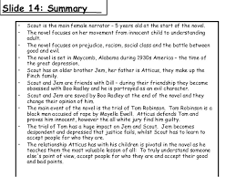 to kill a mockingbird edexcel 2006 16 slide 14 summary•
