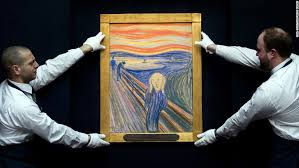 edvard munch 39 s the scream sold for 120 million at
