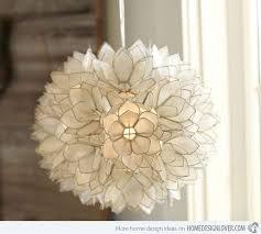 interesting flower c as flower ceiling light