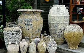extra large outdoor planters large glazed pots planters atlantis pots old stone and ironstone pots