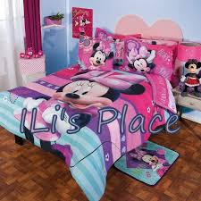 Minnie Mouse Queen Size Bed Set Free Shipping Pure Cotton Home ...