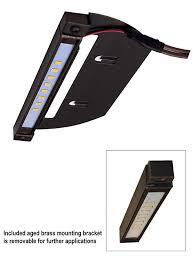 alliance outdoor lighting solid brass step light 75 sl75led 1