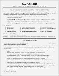 Manufacturing Controller Resume Examples Luxury Technical Resume