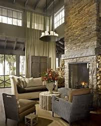Two Story Fireplace  Indoor U0026 Outdoor Fireplace DesignsTwo Story Fireplace