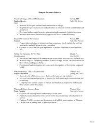 Sample Resume Format For Internship Template Summer Internship Resume Examples Fungram Co Cv Template 23