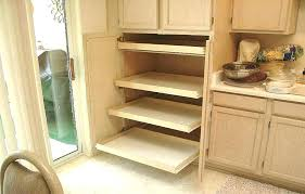 diy pullout pantry pantry cabinet slide out shelves kitchen pantry storage pull out shelves how to diy pullout