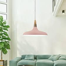 wood pendant light modern ceiling