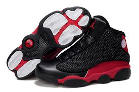 jordan shoes for men. nike air jordan 13 shoes men\\\u0027s grade aaa grain leather black red for men