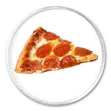 pepperoni pizza slice. Unique Slice Pepperoni Pizza Slice  3u0026quot Circle Sew  Iron On Patch Funny Joke Humor  Food In