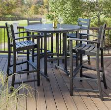 Trex Outdoor Furniture Monterey Bay 5 Piece Bar Set
