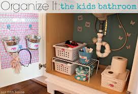 Kids Bathroom Organize It The Kids Bathroom Our Fifth House