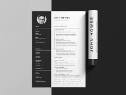 Cover Letter And Resume Templates Free Clean Cv Resume Template With Cover Letter In Photoshop