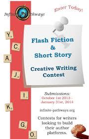 creative writing contest poster