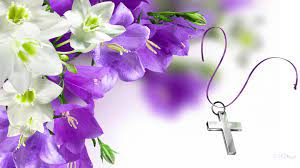 Easter Flowers and Cross HD Wallpaper ...