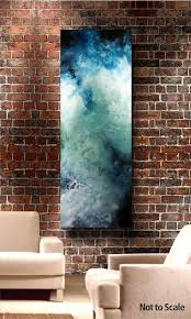 creativ 1 4 blue water colorwater color abstractblue abstract paintingabstract