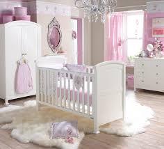 kids bedroom baby girl nursery ideas beige ruffle yellow table white framed window vintage crystal