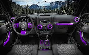 jeep wrangler 4 door interior. looking for good interior decoration your jeep wrangler ecowlboy 18 pcs full set trim kit is just what you need 4 door h
