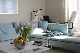 apartment home office. Table Seat Home Office Property Blue Living Room Furniture Apartment  Couch Interior Design Be O