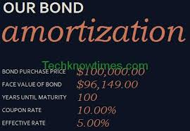amortizing bond discount bond amortization schedule in excel template