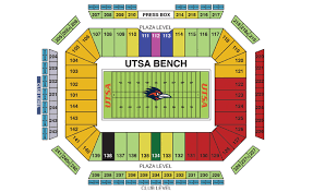 Seating Charts Alamodome