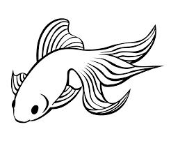 暑中見舞い向け金魚のイラスト無料素材 はがきの挿絵用無料イラスト素材