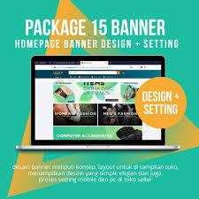 Desain Banner Dimana Beli Workinlines Desain Toko 15 Package Banner