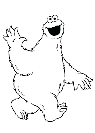 Monster For Coloring Monster Colouring Page Monster Coloring Pages