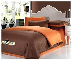 ikea duvet covers brown and burnt orange bedding beautiful chocolate comforter set with sheets something shared