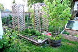 Small Vegetable Garden Ideas Planner Layout Design Plans For Home ...